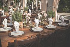 Casamento com decoração romântica - Berries and Love
