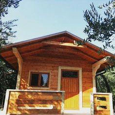 Oltre 1000 idee su case in legno su pinterest pali del for Piani casa tetto del fienile
