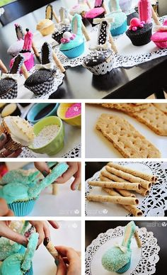 Transform your cupcakes into gorgeous stilettos with this simple DIY!