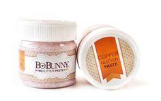 *PRE-ORDER* Bo Bunny - Double Dot Glitter Paste - Copper Glitter Paste,$5.99