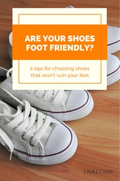 Wonder how to choose good shoes? Learn the one question you need to be asking about your shoes and get four tips for selecting shoes that keep your feet healthy.