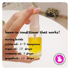 Leave-In Conditioner that works! DIY ♡ for more Vegan fashion: https://www.facebook.com/gonewiththemink http://gonewiththemink.com/