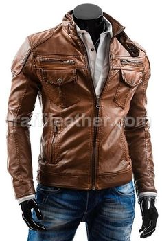Jaket Kulit Slimfit Pria » Jaket Kulit Slimfit LS 041 •www.raffileather.com Jual Jaket Kulit Asli Garut Murah dan Berkualitas | Model Jaket Kulit Asli