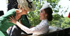 Kate Middleton Lights Up the Internet by Catching a Falling Countess at the Royal Ascot