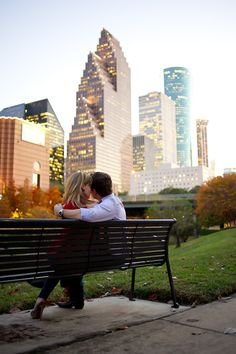 edgy, urban engagement session, downtown Houston - photos by top Houston area wedding photographer Adam Nyholt