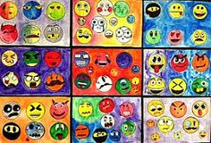 Emoji Design: Show us how you really feel! High School Art, Middle School Art, Emoji Room, Third Grade Art, Emoji Design, Jr Art, Emoji Faces, Art Therapy Activities, Arts Ed
