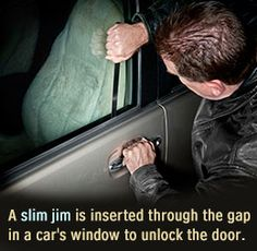 How to Use Slim Jim to Unlock Car Door if You Lose Your Keys: It Should Be a Clue! Using… #Life_Style #how_to_articles #how_to_instructions
