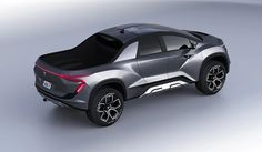 One car designer decided to give it his own take on this automotive design concept on the Tesla Pickup Truck, let's take a look at the work from Emre Husmen who is a car designer based in Istanbul, Turkey. Tesla Pickup Truck, Electric Pickup Truck, Chevy Pickup Trucks, Lifted Chevy, Electric Cars, Ford Trucks, Pick Up, 4x4, New Tesla