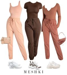 Nude Outfits, Boujee Outfits, Polyvore Outfits, Fashion Outfits, Fashion Capsule, Cute Comfy Outfits, Stylish Outfits, Classic Outfits, Matching Outfits