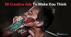 30 Creative Ads To Make You Think