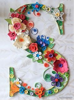 typography text quilling art. Read Full article: http://webneel.com/webneel/blog/creative-paper-sculptures-calvin-nicholls | more http://webneel.com/daily . Follow us www.pinterest.com/webneel