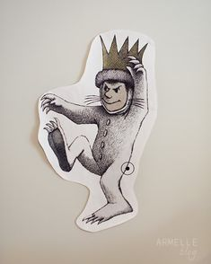 Where the Wild Things Are Party (Pin the tail on Max is my fav thing she did!) @Armelle the blog.