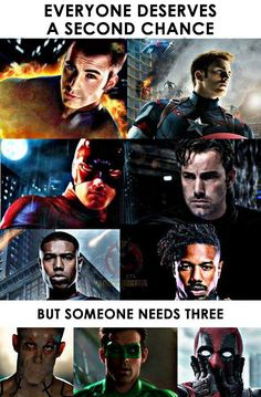 True. :) <<<Technically it's just two roles, bud deadpool in two versions