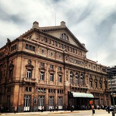 Spaziergang. Teatro Colón in Baires, Buenos Aires C.F.