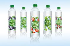 NICE Mint Sparkling Water — The Dieline - Branding & Packaging Design