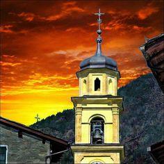 Campanile di Primolo in  Valmalenco