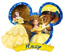 Belle Disney Beauty and the Beast Printable by MunchManCreations