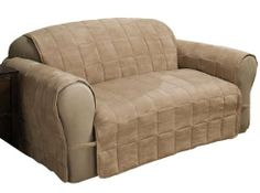 Innovative Textile Solutions Ultimate Furniture Protector Loveseat, Natural by Innovative Textile Solutions. $46.01. Faux Suede soft yet durable. Extra plump fill. Ultimate covers more the furniture. Soft Faux Suede cover wraps around the entire furniture for ultimate protection. Attached D-rings help keep cover in place.