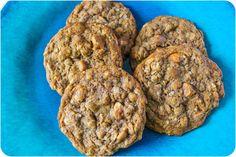 Whole Wheat PB Butterscotch Oatmeal Cookies-4
