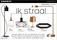 verlichting, #Woonbeurs, licht, lamp, woonbeurs 2014, glamour, zwart, goud, koper, wonen, interieur Eikelenboom