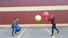 Juggling 3 Stability Balls: @GopherSport #PhysicalEducation #PHEatHome #Fitness Stability Ball, Physical Education, Balls, Fitness, Youtube, Exercise Ball, Physical Education Lessons, Physical Education Activities, Youtubers