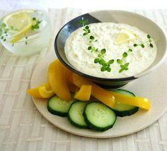 Inspired Edibles: Lemon Thyme Artichoke Dip ~ a summer fresh delight