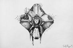 Résultats de recherche d'images pour « destiny ghost tattoo »