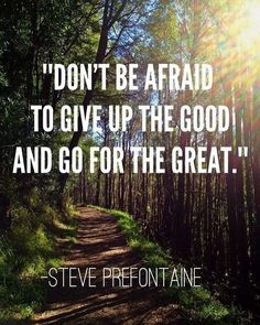 Go for the great!!! P.S. Looking for a better way to build your business? Check out http://ift.tt/2e1GAWr