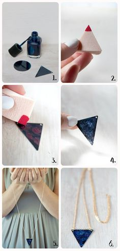 DIY: collar con estampado [FOTOS]   ActitudFEM