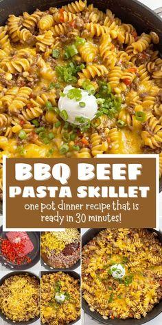 Dinner Recipes Easy Quick, Best Dinner Recipes, Supper Recipes, Quick Easy Meals, Simple Meals, Easy Recipes, Beef Recipes, Beef Meals, Cooking Recipes