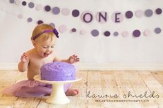 Cake smash! First Birthday Pictures Tutu pictures