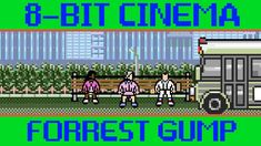 8-Bit Cinema - Forrest Gump Retold in Two Animated Minutes