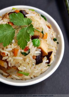 vegan: sticky rice bowl...