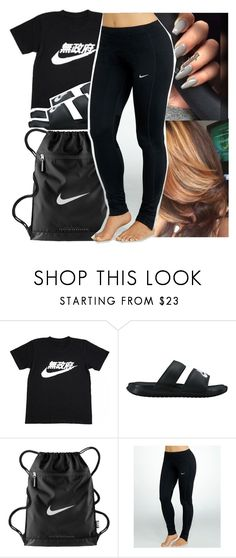 """""""Untitled #365"""" by princessjolie ❤ liked on Polyvore featuring NIKE"""