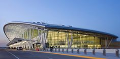 Indianapolis International Airport Colonel H. Weir Cook Terminal by HOK