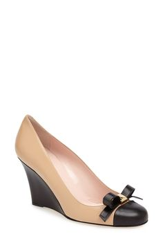 Kara Wedge Pump by kate spade new york on @HauteLook