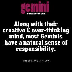 Zodiac Gemini facts.