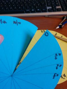 As requested on the twitters here is the trig wheel I shared with the folks in the PreCalc morning sessions at #TMC14. I'm going to repeat what I said there; I found this on someone's blog. I don't...