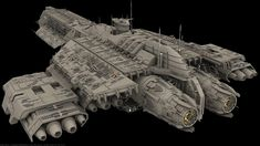 This is the USS Icarus , inspired by the Daedalus and Odyssey class ship from Stargate. This is not my work , all credit goes to the Stargate invasion t. Stargate Ships, Stargate Atlantis, Star Wars Spaceships, Sci Fi Spaceships, Spaceship Art, Spaceship Design, Nave Star Wars, Starship Concept, Space Engineers