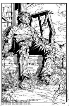 The Death of Wolverine by Steve McNiven *