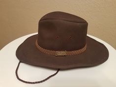 Driza-Bone Bush Boonie Hat Men s Size Extra Large D.Brown  fashion   14ef4d92d6d4