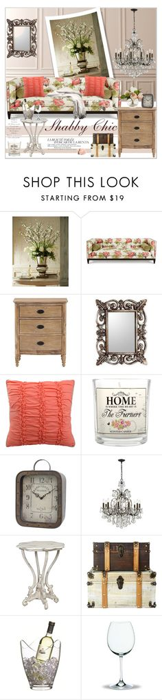 """Shabby Chic Home Decor"" by yukotange ❤ liked on Polyvore featuring interior, interiors, interior design, home, home decor, interior decorating, John-Richard, Old Hickory Tannery, Home Decorators Collection and NOVICA"