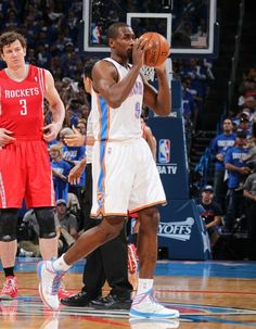 Thunder vs. Rockets: Game 1   THE OFFICIAL SITE OF THE OKLAHOMA CITY THUNDER - Oh Serge...he cracks me up with this