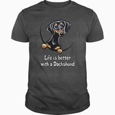Awesome Dachshund Lovers Tee Shirts Gift for you or your family your friend: Dachshund Black Tan lover Tee Shirts T-Shirts Dachshund Quotes, Dachshund Gifts, Funny Dachshund, Dachshund Love, Mothers Day Shirts, Father's Day T Shirts, Tee Shirts, Grandparents Day Gifts, Fathers Day Weekend