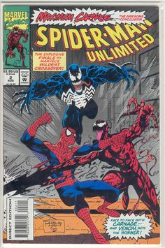 Title: Spider-Man Unlimited | Year: 1993 | Publisher: Marvel | Number: 2 | Print: 1 | Type: Regular | TitleId: b96aee69-fed1-4a59-ad2b-46ae7907b370