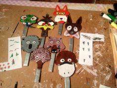 Masks for Wombat Stew