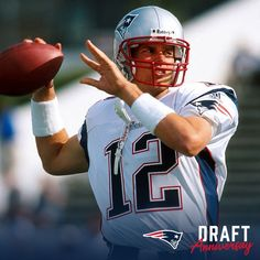 18 years ago today TB12 became a Patriot; April 16