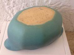 Van Briggle Pottery Vintage Art Pottery. Scallop Edge Matte