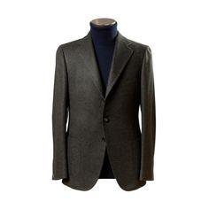 Cashmere sports coat by Cesare Attolini.