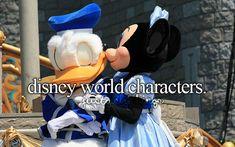 disney world characters